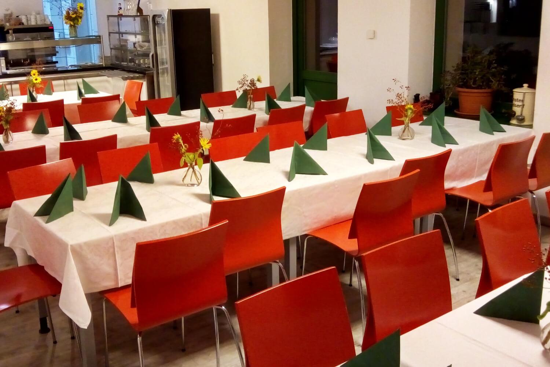 Mittagessen im Bistro-Fabrik21