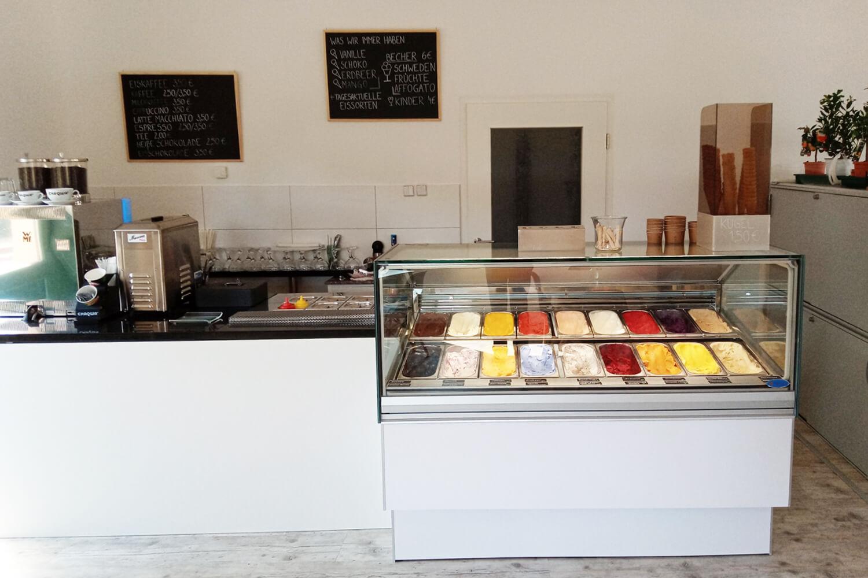 Unser Eiscafé in der Fabrikstraße 21