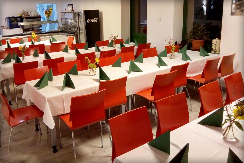 Unser Bistro-Fabrik21 in Böhlitz-Ehrenberg für Ihre Veranstaltung
